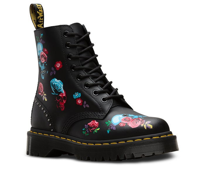 36bbdd664ae93 Dr Martens 1460 Bex Rose Women's Boots - Rose Fantasy Placement ...