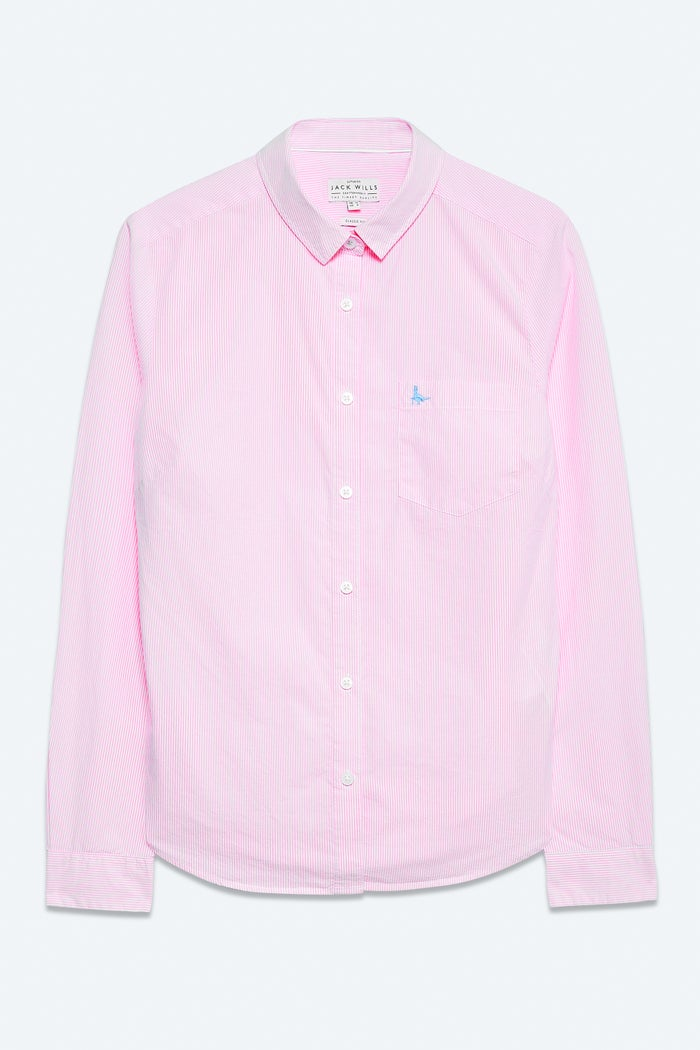 Jack Wills Prewitt Classic Fit Poplin Women's Shirt