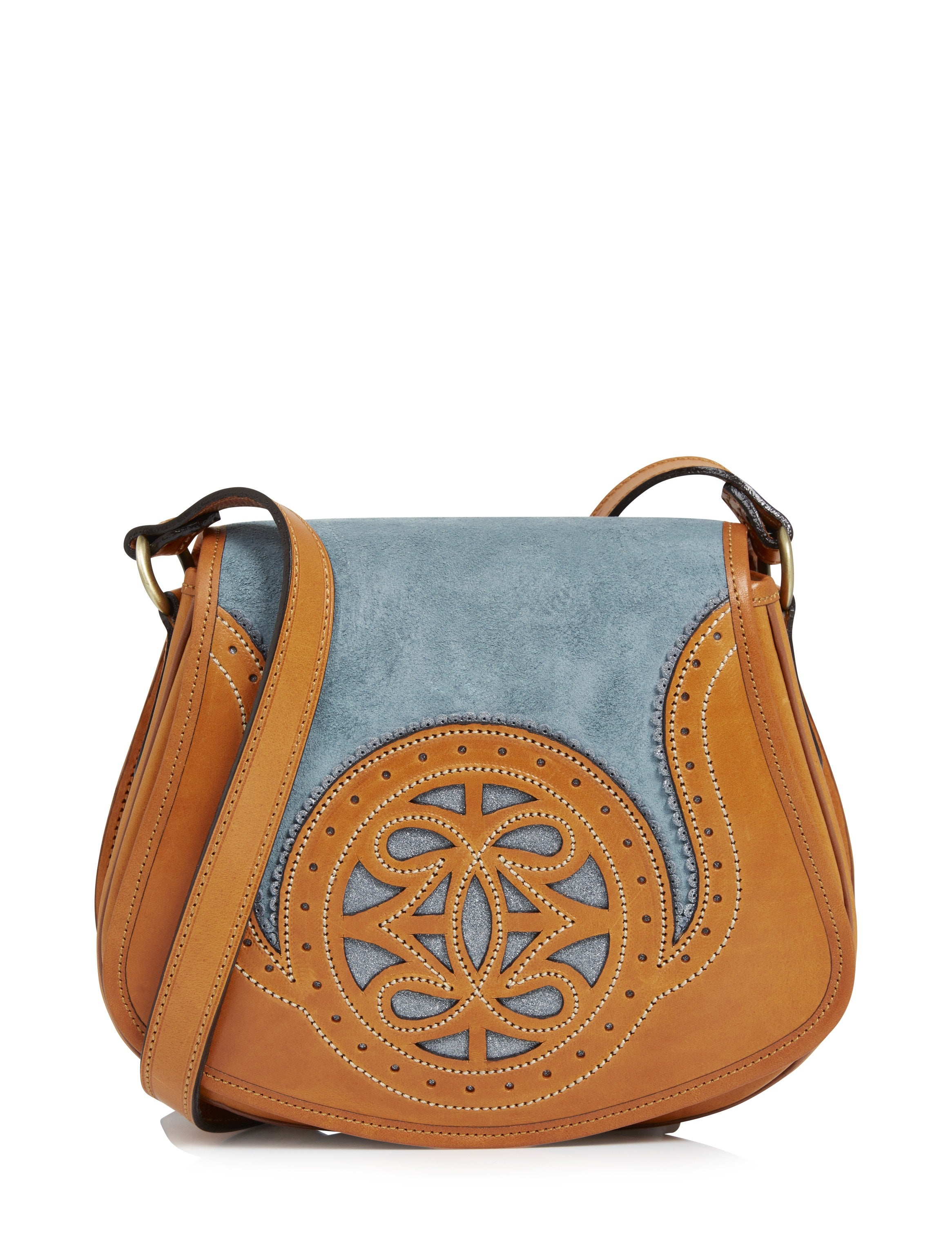 Penelope Chilvers Castanet Suede Crossbody Women's Messenger Bag