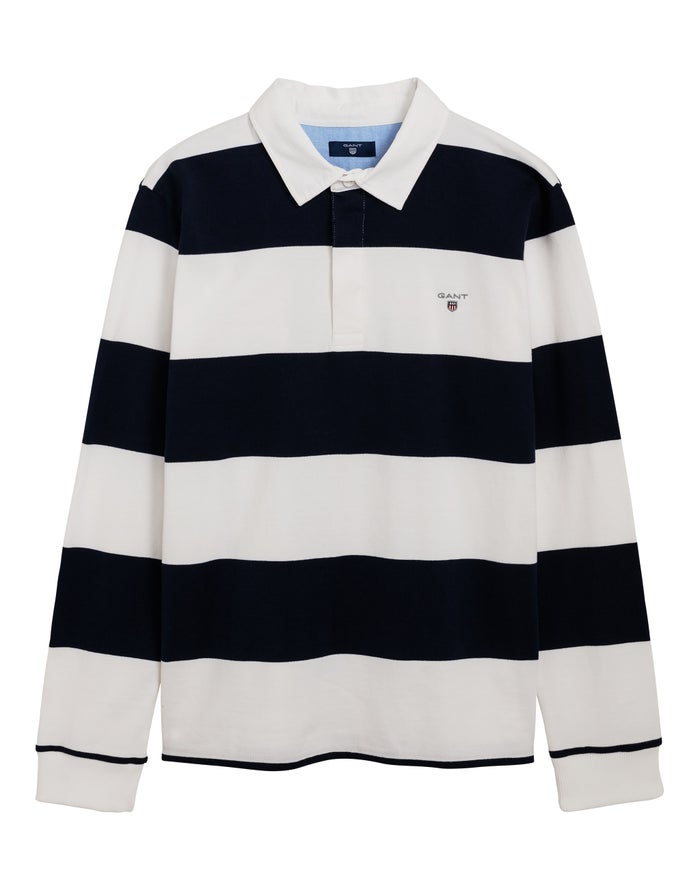 3f326b29c53 Gant The Original Barstripe Boy's Rugby Top - Evening Blue | Country ...