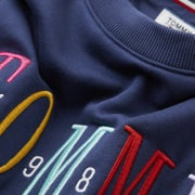 Tommy Jeans Multicolor Embro Dame Sweater