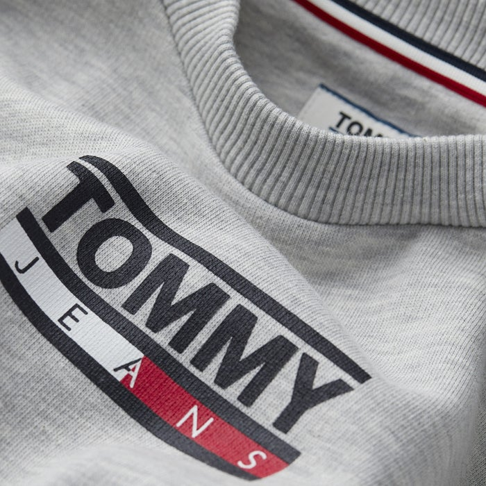 Tommy Jeans Bold Tommy Crew Dame Sweater