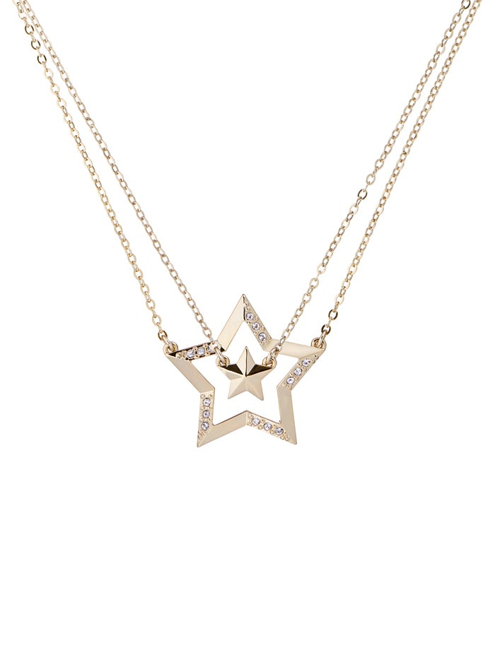 Ted Baker Idolina Interstella Double Pendant Necklace