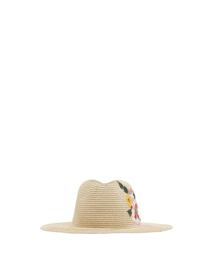 bd045b64 Joules Dora Women's Hat - Red Placement Floral | Country Attire