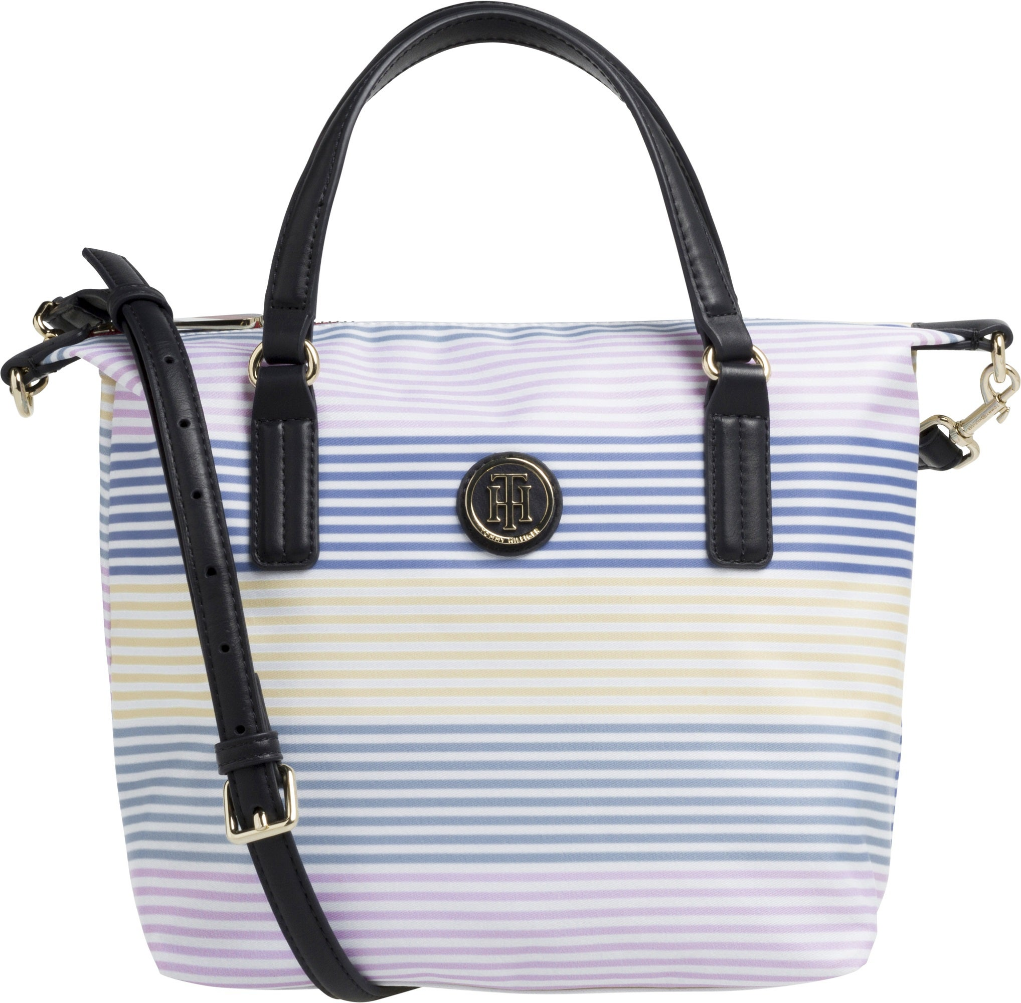 5d8048fc3f37ab Tommy Hilfiger Poppy Small Stripe Tote Women's Shopper Bag | Country ...