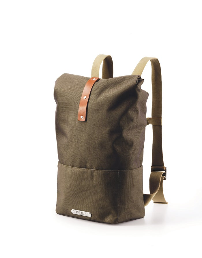 148506f1470 Brooks England Hackney Waterproof Backpack - Green   Country Attire
