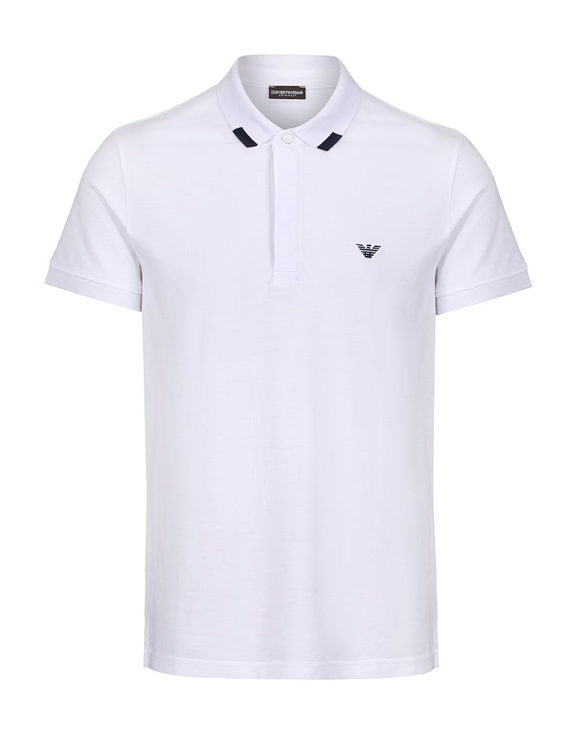 Emporio Armani Iconic Piquet Polo Shirt