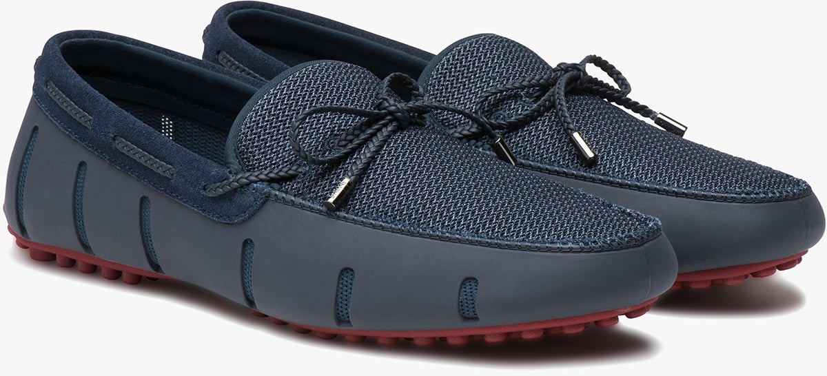 Swims Braided Lace Lux Loafer Driver Herre Slip-på-sko