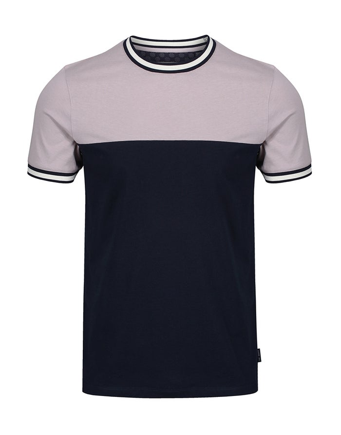 Ted Baker Paneled Short Sleeve T-Shirt