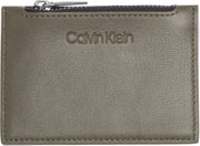 Calvin Klein Sliver Zip Card Holder