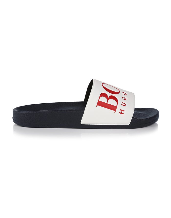 BOSS Solar Slide Logo Sandals