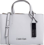 Calvin Klein Sided Medium Tote Handlebag
