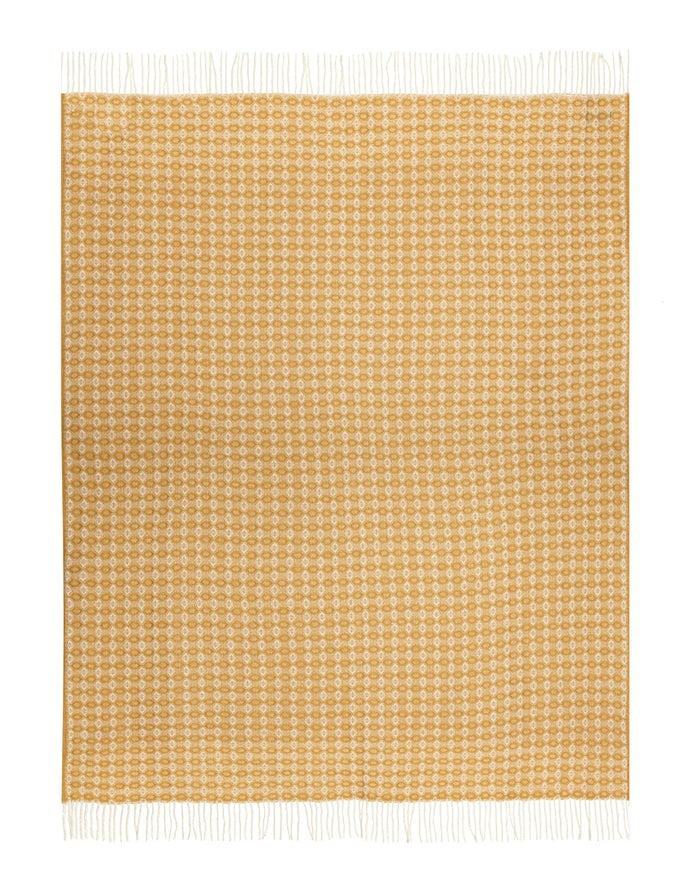 Country Attire Pure New Wool Cobweave Throw