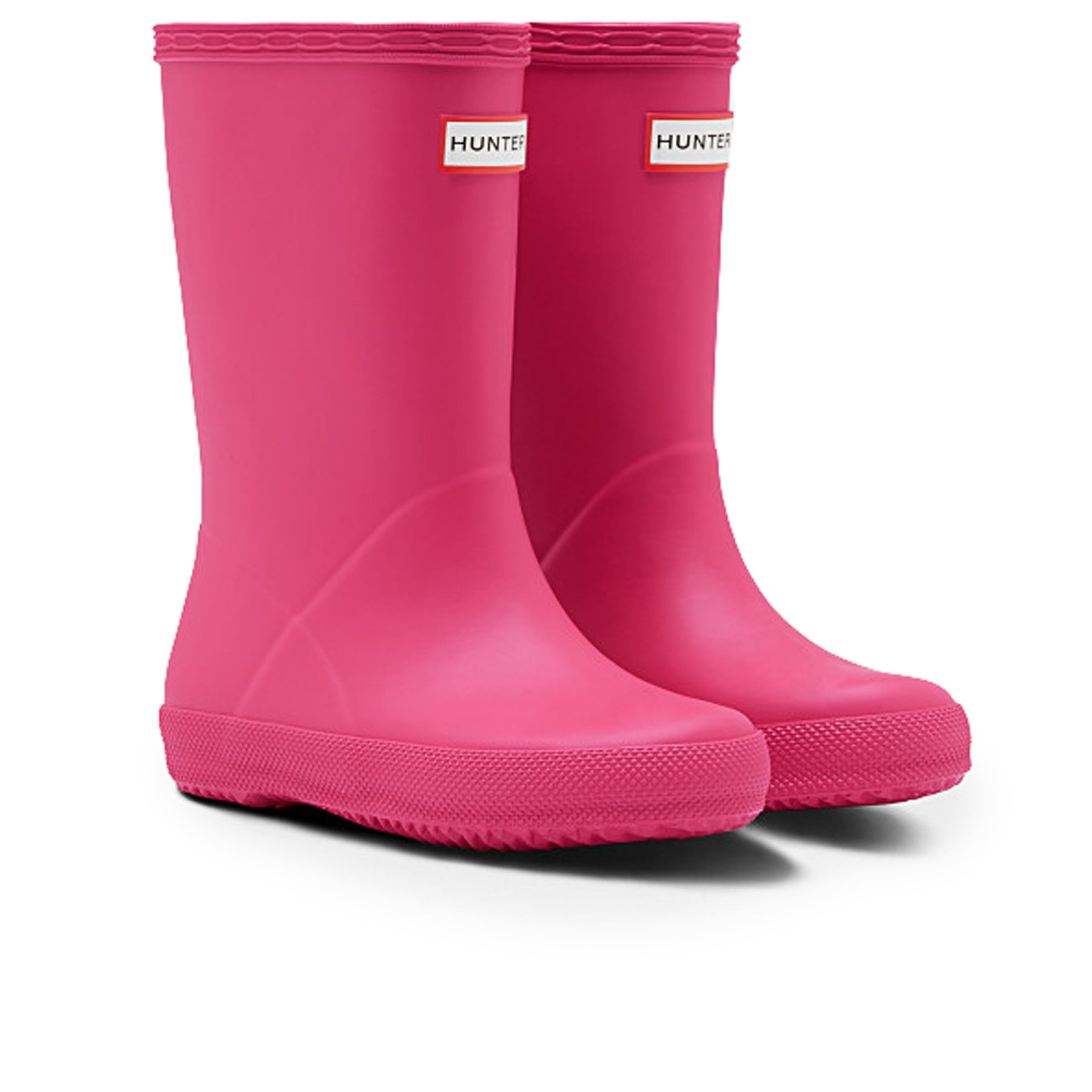 reputable site d6e8c 9bb46 Hunter First Classic Kinder Gummistiefel - Bright Pink | Country Attire