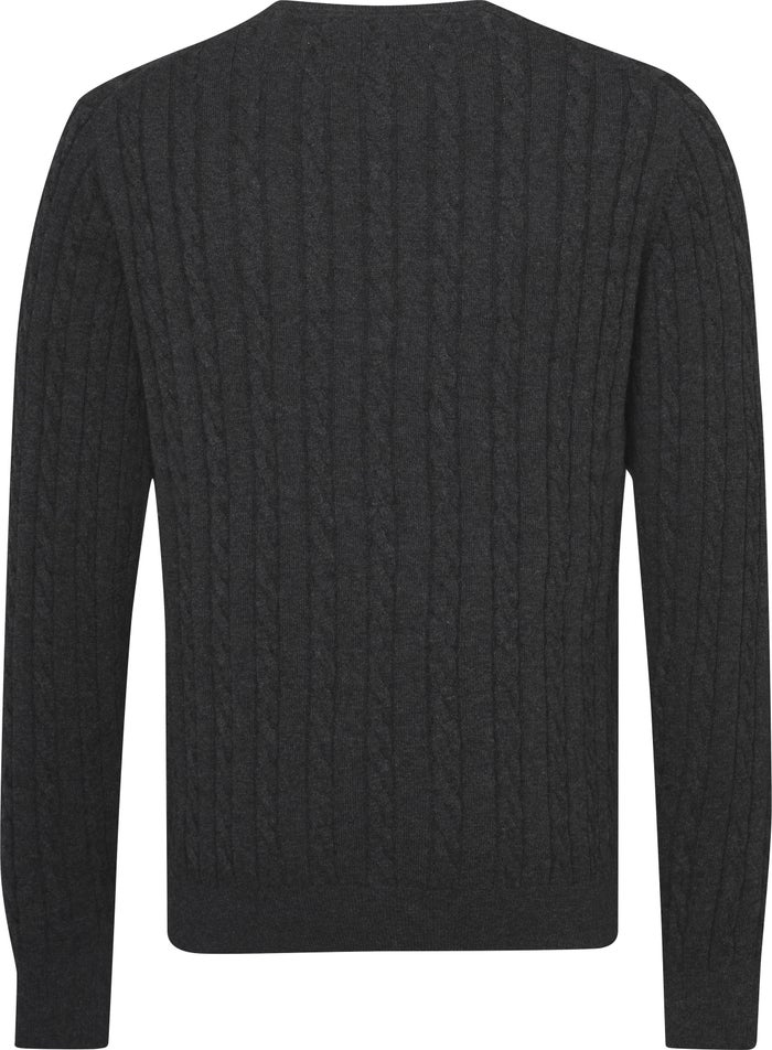 Knits Tommy Hilfiger Cable Knit Crew Neck