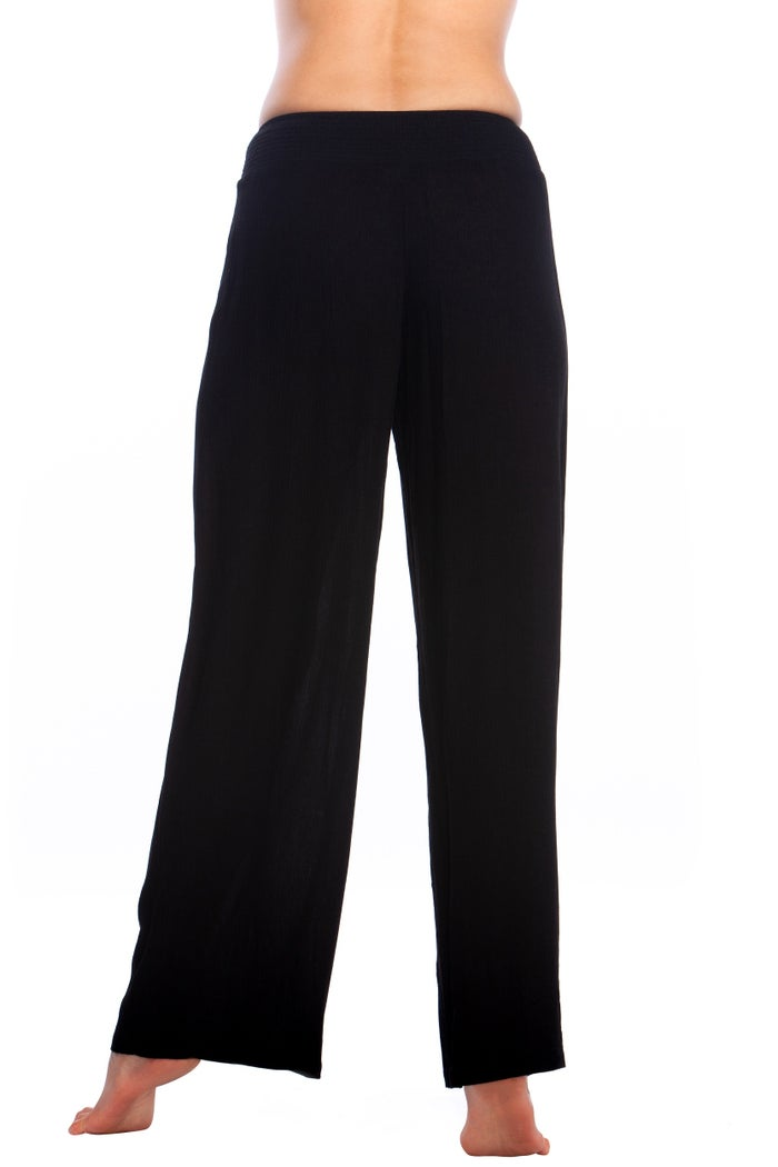 Ralph Lauren Crincle Rayon Smocked Women's Trousers