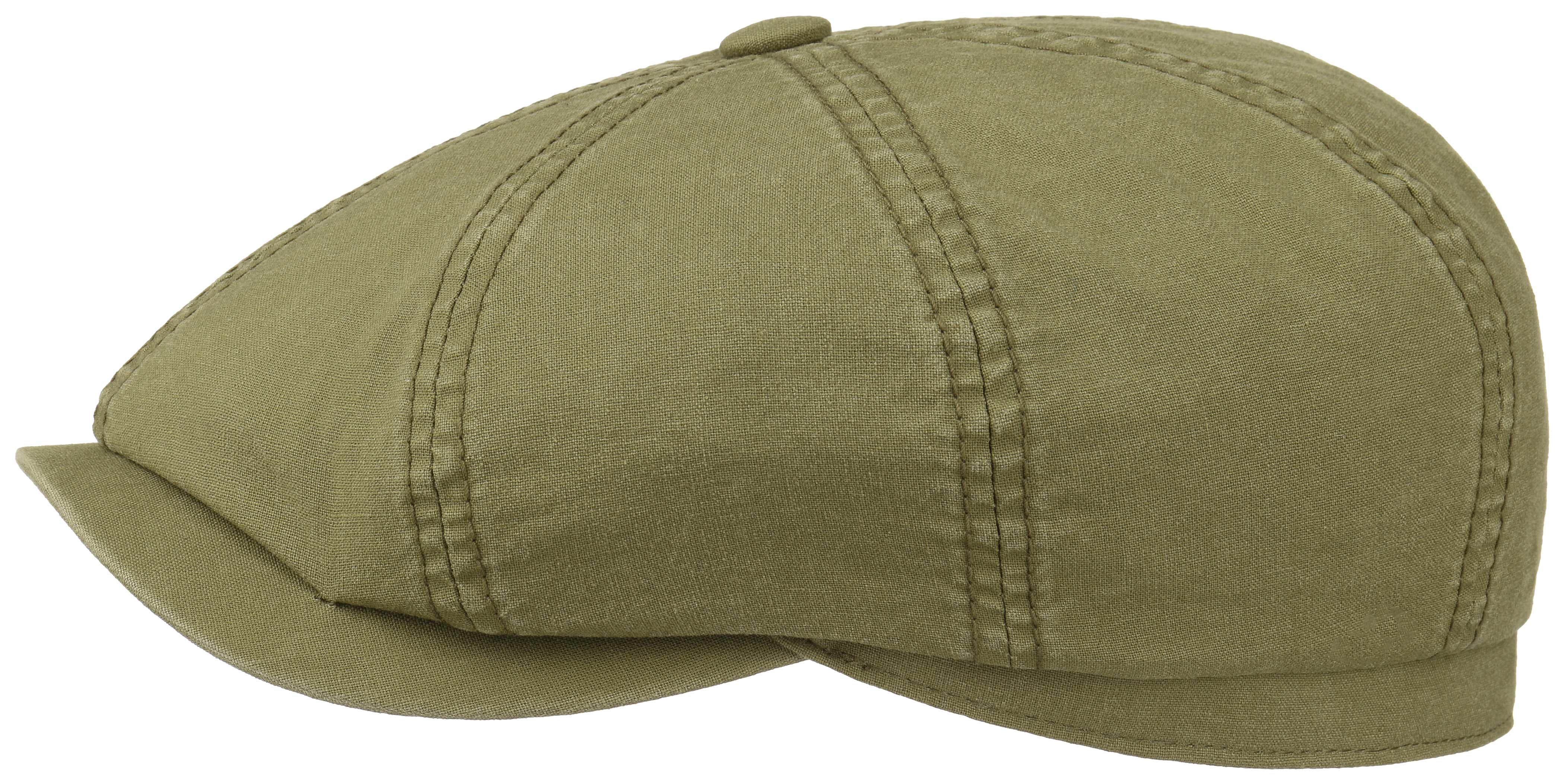 46c45154215ab4 Stetson Teras Delave Organic Flat Hat - Olive   Country Attire