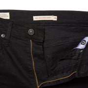 Jeans Donna Levis Mile High Super Skinny Black Galaxy