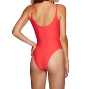 Calvin Klein Cheeky Scooped One Piece Women's Swimsuit