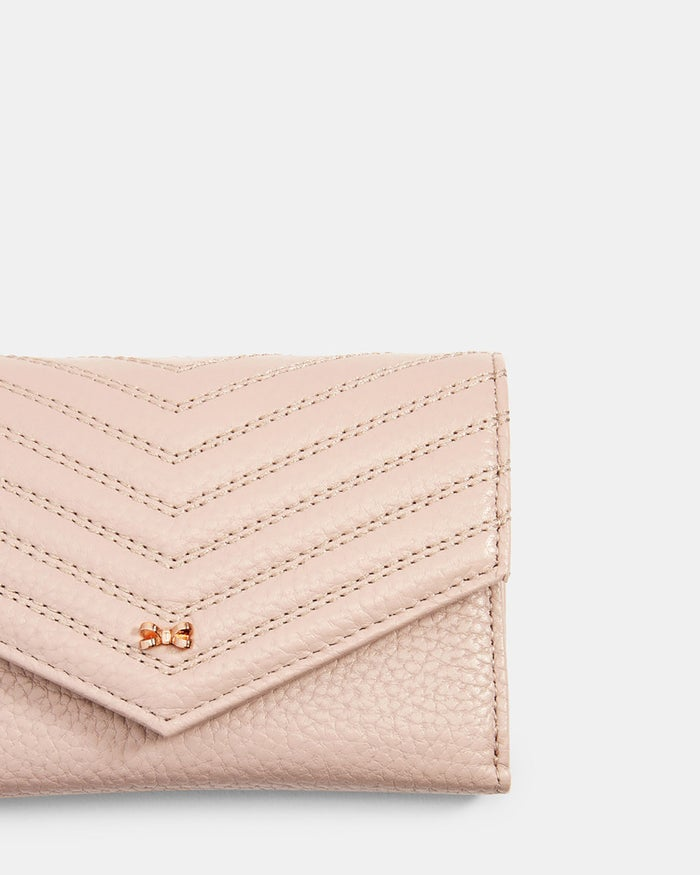 Ted Baker Nourr Quilted Envlpe Small Bifold Women's Purse