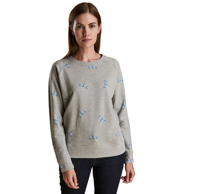 Barbour Wharf Overlayer Dame Sweater