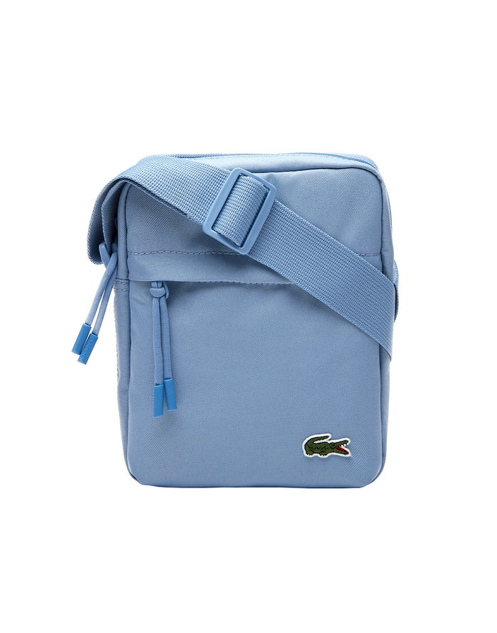Lacoste Neocroc Canvas Vertical Cross Body Men's Messenger Bag