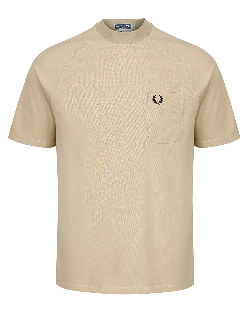 Fred Perry Re Issues Two Tone Pique Kurzarm-T-Shirt