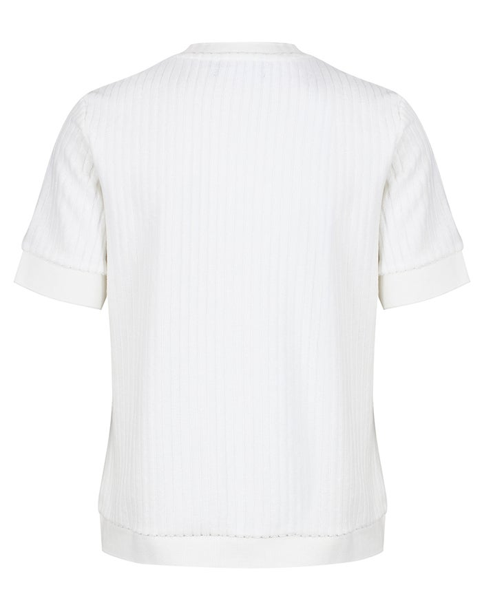 Fred Perry Re Issues Crew Neck Towelling T-Shirt Korte Mouwen
