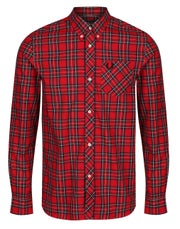 Fred Perry Re Issues Tartan Overhemd