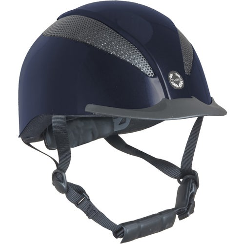 d60572a8f116a Champion Air Tech Deluxe Riding Hat - Navy