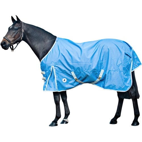 Wedgewood Blue Whispering Derby House Pro Lightweight Standard Turnout Rug