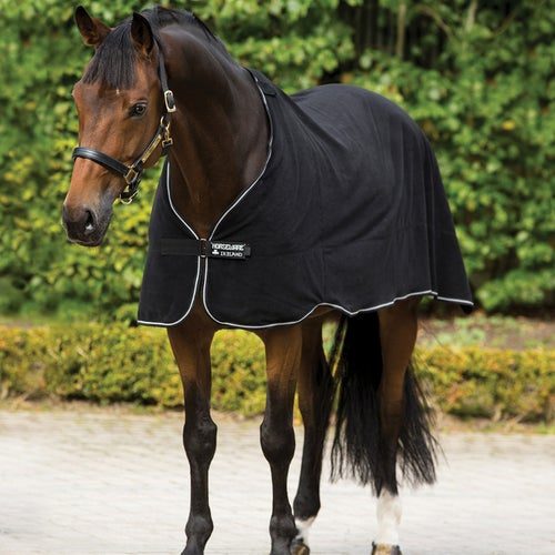 Horseware Fleece Liner Under Rug Black White