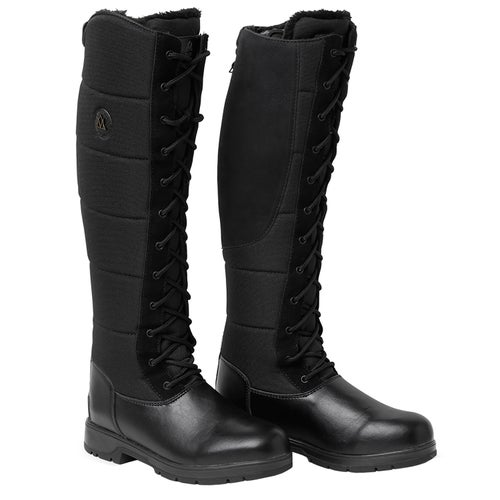 b18603410c Mountain Horse Vermont Lace Wide Ladies Long Riding Boots - Black