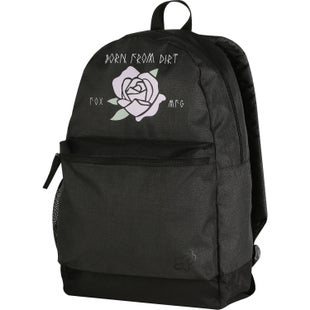Fox Racing Rosey Kick Stand Youth Backpack - Black Vintage