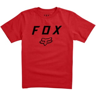 Fox Racing Legacy Moth Youth Short Sleeve T-Shirt - Dark Red