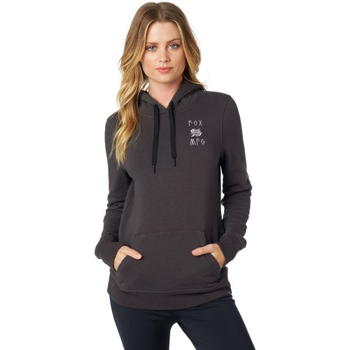 Fox Racing Rosey Womens Pullover Hoody - Black Vintage