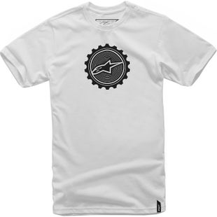 Alpinestars Geared Short Sleeve T-Shirt - White