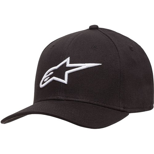 Alpinestars Ageless Curve Cap - Black White