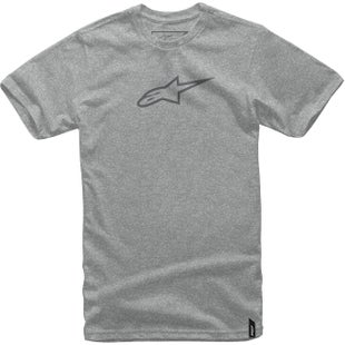 Camiseta de manga corta Alpinestars Ageless II - Grey Heather Grey