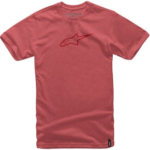 Camiseta de manga corta Alpinestars Ageless II - Red Heather Red