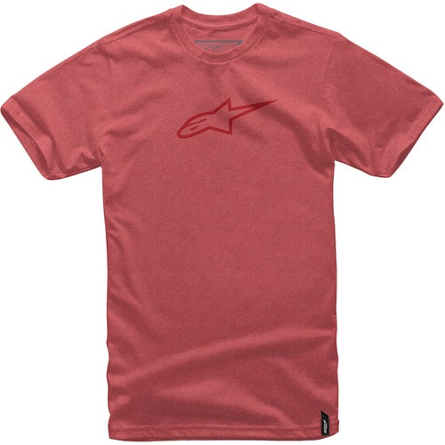 Alpinestars Ageless II Short Sleeve T-Shirt - Red Heather Red
