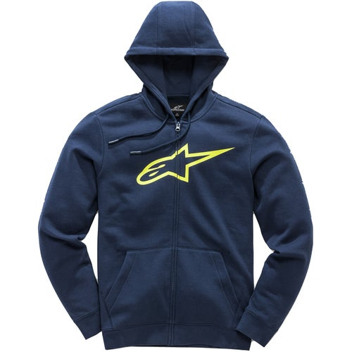 Alpinestars Ageless Zip Hoody - Navy Yellow