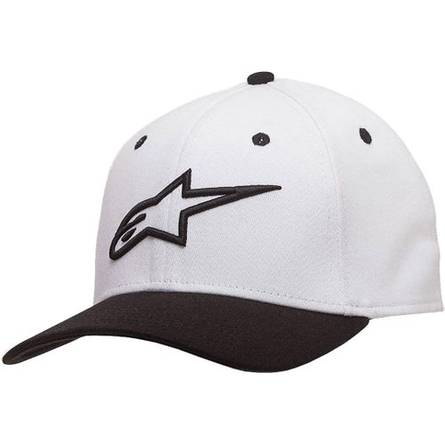 Alpinestars Ageless Curve Cap - White Black