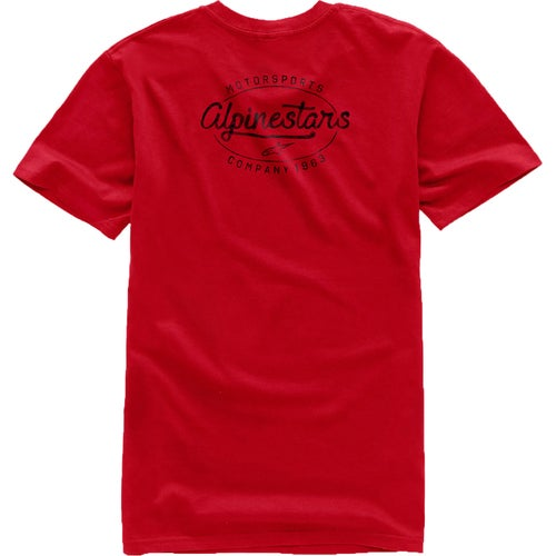 Alpinestars Distro Short Sleeve T-Shirt - Red
