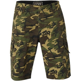 Fox Racing Slambozo Camo Cargo Walk Shorts - Green Camo