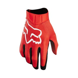 Fox Racing Airline Race Bike Gloves - Red