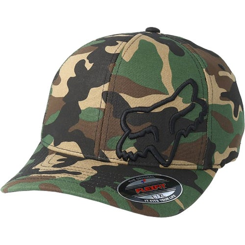 Fox Racing Flex 45 Flexfit , Cap - Camo