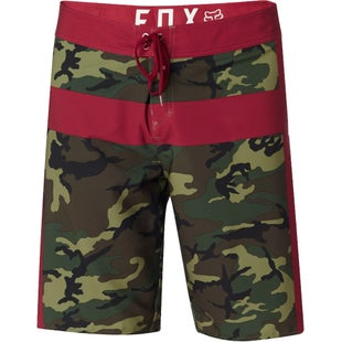Fox Racing Camouflage Moth Boardshorts - Green Camo