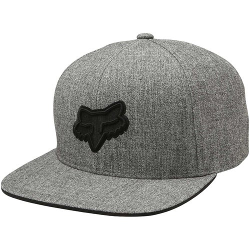 Fox Racing Legacy Snapback Cap - Heather Grey