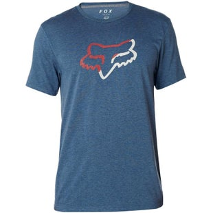 Fox Racing Planned Out Tech Short Sleeve T-Shirt - Heather Navy